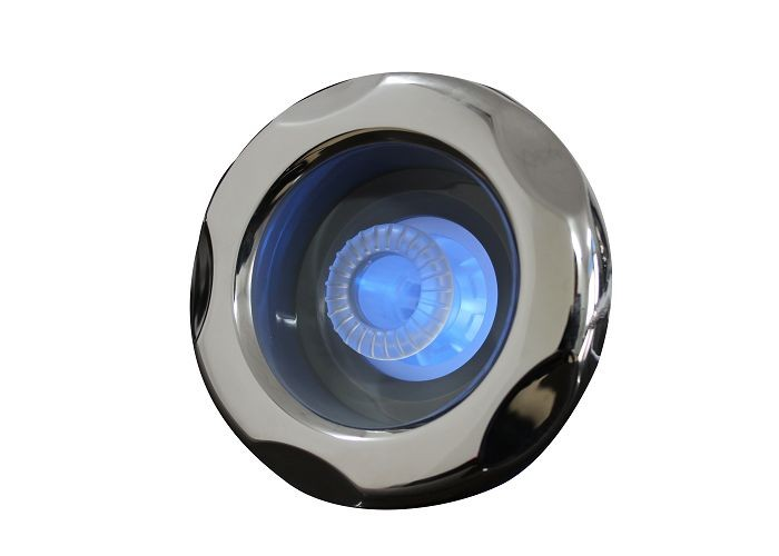 "5"" S.S Typhoon Hot Tub Jets Internal - Directional With 5 Scallop Face For LED Illumination"